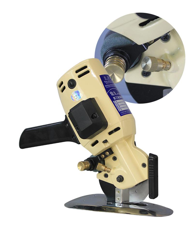 手提式电动切布机 圆刀裁剪机 电剪刀 裁布机圆刀机产品实拍3
