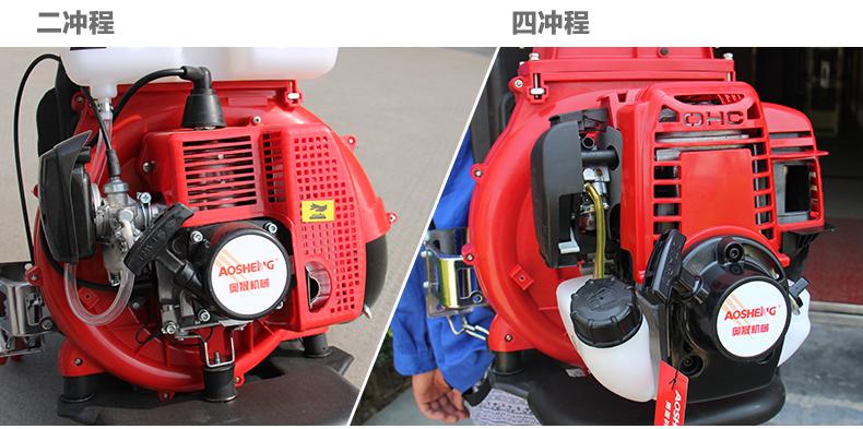 背负式汽油施肥机器 喷雾机喷粉机打药机 颗粒播种农用撒肥机产品对比2