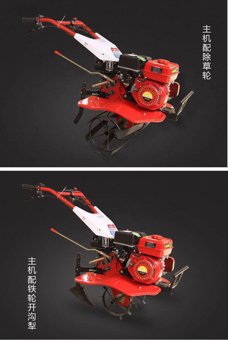 多功能汽油微耕机 小型松土机 旋耕起垄除草开沟 柴油耕地机7.5马力产品细节展示5