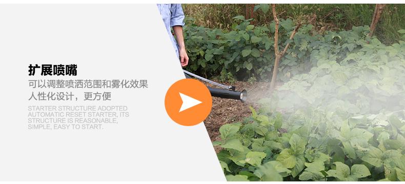 背负式汽油施肥机器 喷雾机喷粉机打药机 颗粒播种农用撒肥机产品对比9
