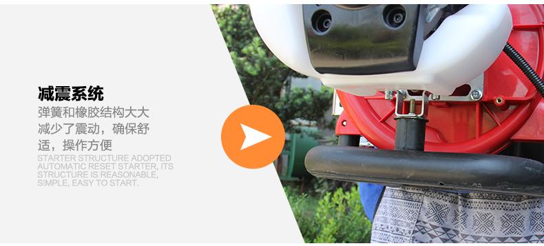 背负式汽油施肥机器 喷雾机喷粉机打药机 颗粒播种农用撒肥机产品对比5
