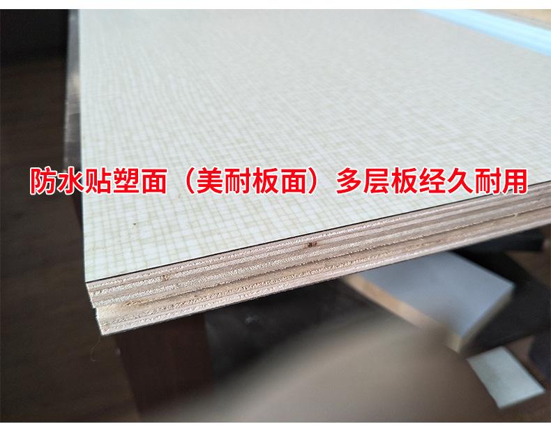服装布料裁剪台 高品质可装卸面料 组合式裁床 流水工作台 产品实拍4