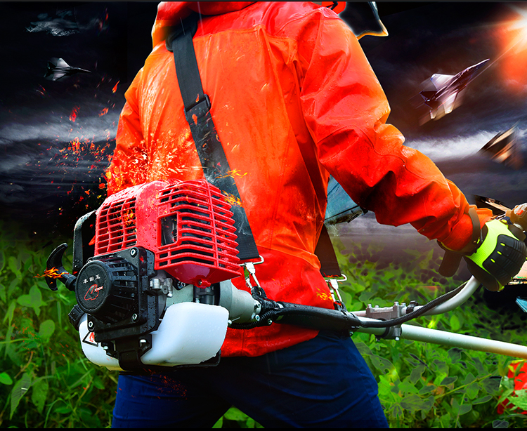 割草机 四冲程背负式 汽油家用割灌机 农用收割打草 除草机产品品牌1