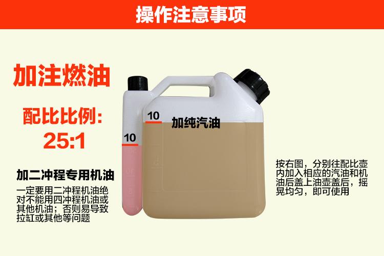背负式汽油施肥机器 喷雾机喷粉机打药机 颗粒播种农用撒肥机产品操作