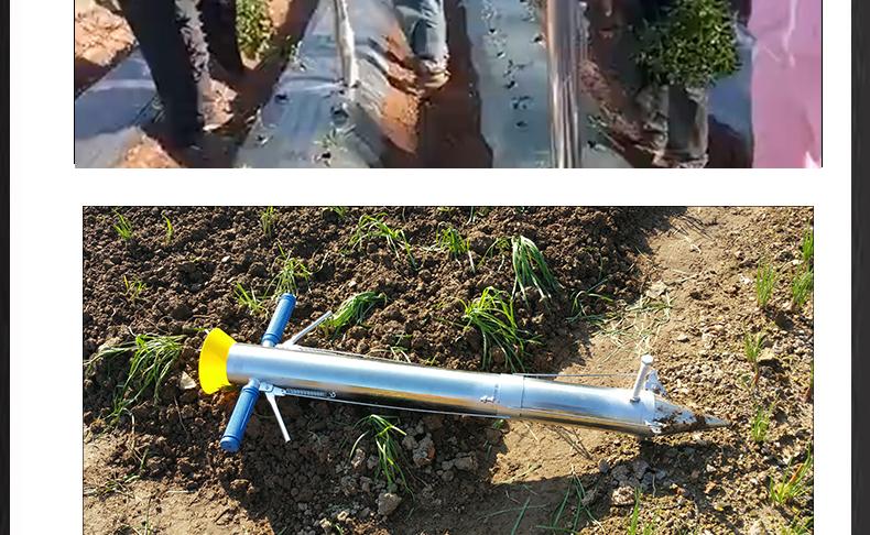 多功能种苗定植器 幼苗移栽施肥点播器 栽苗器播种机 种植耕种机械产品实拍2