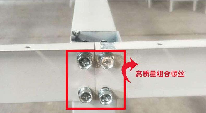 服装布料裁剪台 高品质可装卸面料 组合式裁床 流水工作台 产品安装3