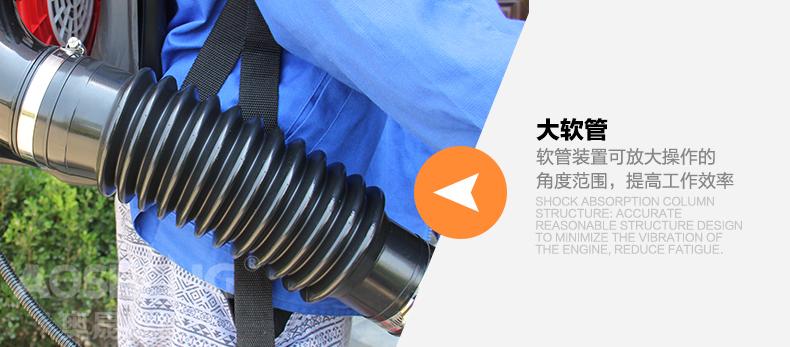 背负式汽油施肥机器 喷雾机喷粉机打药机 颗粒播种农用撒肥机产品对比8