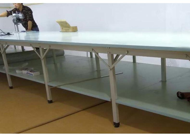 服装布料裁剪台 高品质可装卸面料 组合式裁床 流水工作台 产品实拍2