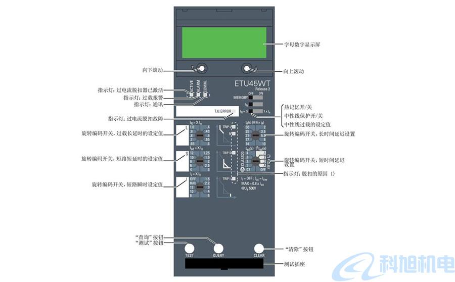 西门子断路器过电流脱扣器和功能七