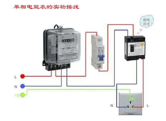 电能表怎么看度数参数?电能表实物接线图