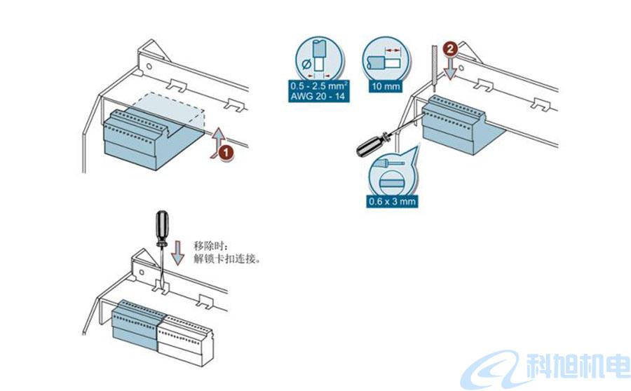 西门子断路器3WT辅助回路的连接二