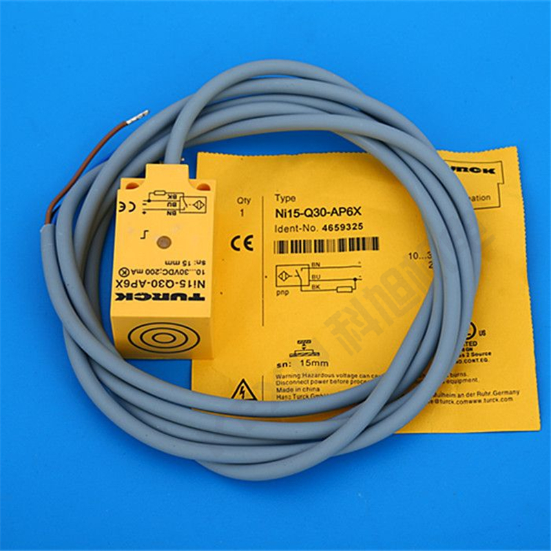 图尔克接近开关BI10-M30-RZ3X接近传感器 自动化控制开关 原装正品 产品图片