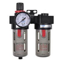 亚德客二联件过滤器BFC3000气源处理AFR1500+AL1500空气油水分离器 原装正品