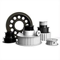 同步带轮高精度齿轮 电机工业传动平皮带 同步轮 支持定做