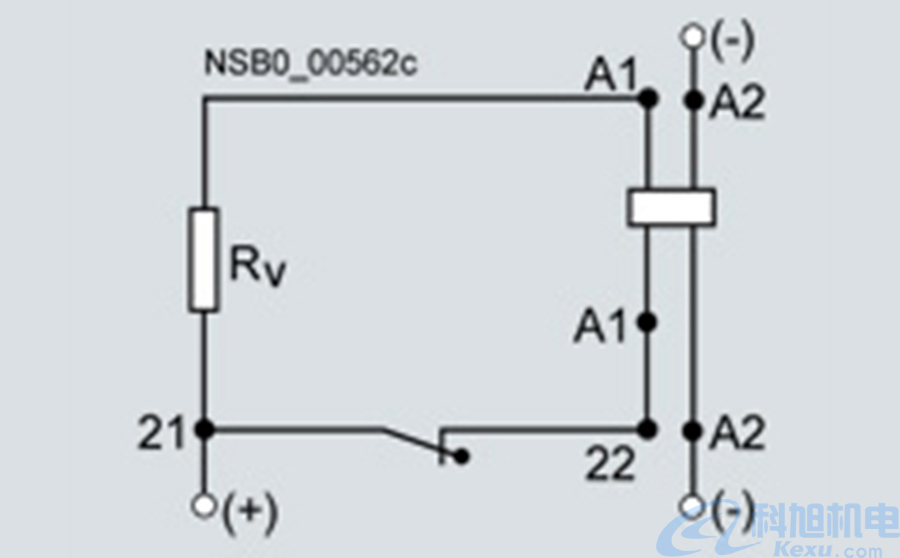 西门子接触器3RT1系列型号参数及应用电路图四