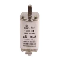 RS31-160低压快速熔断器25 32 40 50 63 80 100 125A