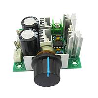科旭Kexu PWM调速器调速开关直流电机 风扇控制器 10A无级变速 原装正品