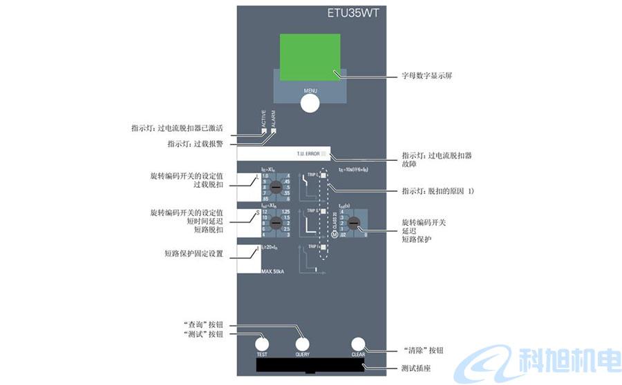 西门子断路器过电流脱扣器和功能二