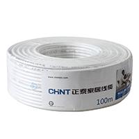 正泰CHNT电工电缆 同轴线缆 闭路线 有线高清电视线NEX3-345-1