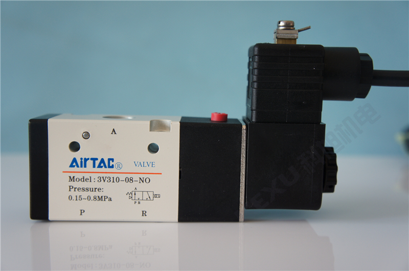 亚德客防爆电磁阀B03-3V220-08-NC电磁阀+防爆型电圈 二位三通 原装正品 产品图片1