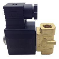 亚德客流体控制阀2KW150-15-B先导常开型电磁阀 黄铜水阀 原装正品