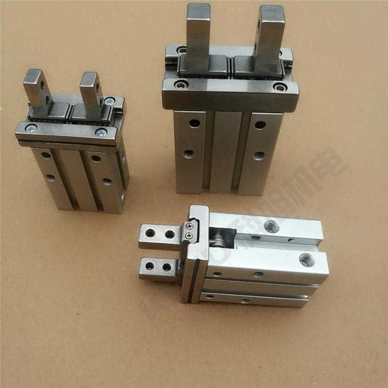 SMC手指气缸MHZ2-25SN平行机械手气爪 原装正品 产品实拍1