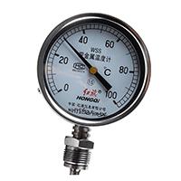 双金属温度计WSS-401/WSS-411轴向径向-40℃-600℃锅炉工业
