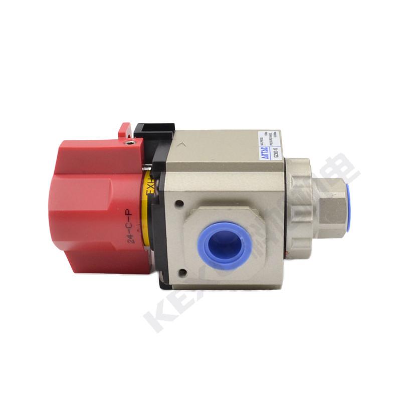 亚德客气动截止阀GZ400-08气源处理器截止阀 气动元件 原装正品 产品图片3