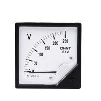 正泰CHNT 指针式电压表6L2-V 250V 300V 450V 500V直通