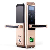 正泰CHNT 家用防盗门智能锁 电子门锁 指纹锁 密码锁 磁卡锁