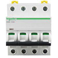 施耐德Schneider 小型断路器 微型空气开关 iC65N 4P C63A