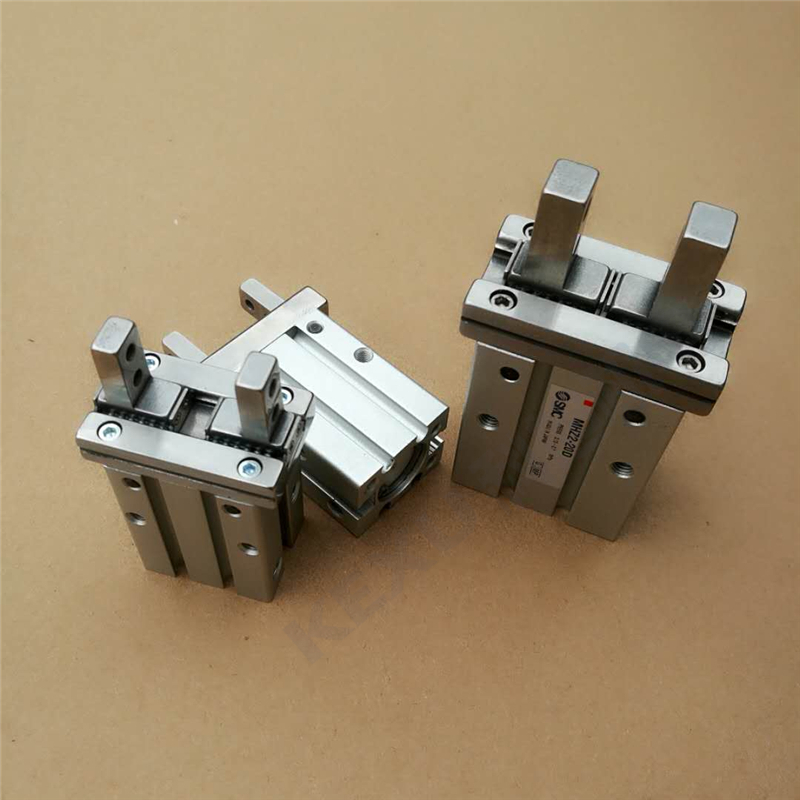 SMC手指气缸MHZ2-25SN平行机械手气爪 原装正品 产品实拍2
