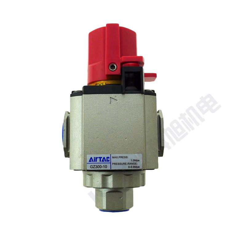 亚德客气动截止阀GZ200-06气源处理器截止阀 气动元件 原装正品 产品图片2