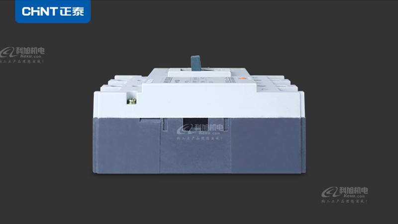 正泰塑壳断路器NM1-125S/3300 三极空气开关3P 100A 三相四线 原装正品产品实拍