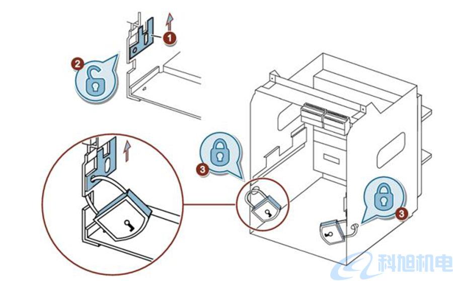 西门子断路器3WT联锁装置