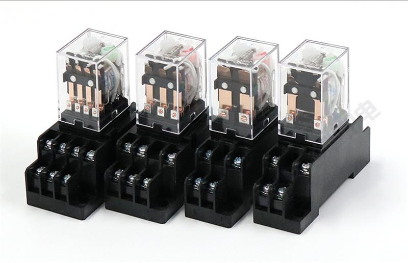 正泰中间继电器JZX-22F/2Z底座电压可选 原装正品 产品实拍2