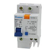 上海人民漏电断路器RMC1L-63C63A/4P剩余电流保护 原装正品