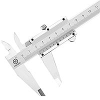 德国美耐特高精度非不锈钢迷你游标卡尺0-150-200-300mm