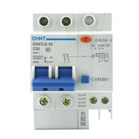 正泰CHNT漏电断路器 DZ47LE 2P 10A 带漏电保护 原装正品