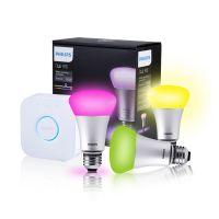 飞利浦 Hue灯泡智能手机wifi无线互联调光调色led彩色高端创意灯泡