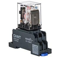正泰中间继电器JZX-22F/4Z底座电压可选 原装正品