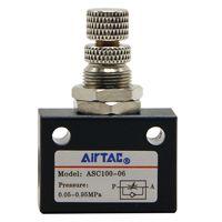 亚德客单向节流阀ASC100-06流量控制阀 气/液调速阀 原装正品