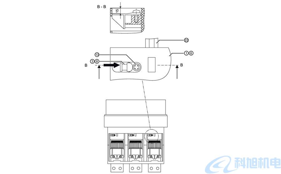 西门子断路器3WT更换导电回路维护十三