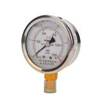 红旗耐震压力表 YTN-60 径向 外壳不锈钢抗震 油表水表气表