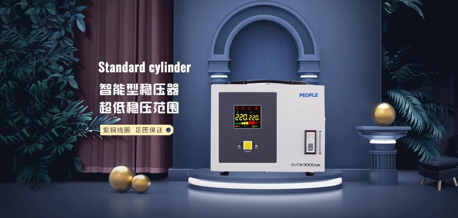 人民电器稳压器SVCIII-10000VA家用电源保护海报说明