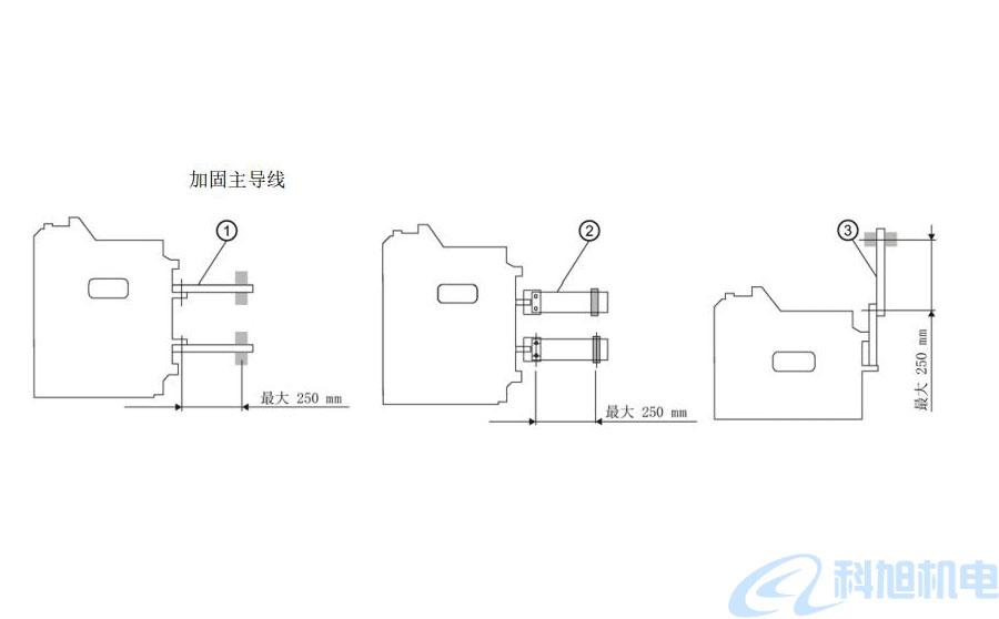 西门子断路器3WT支撑主导线