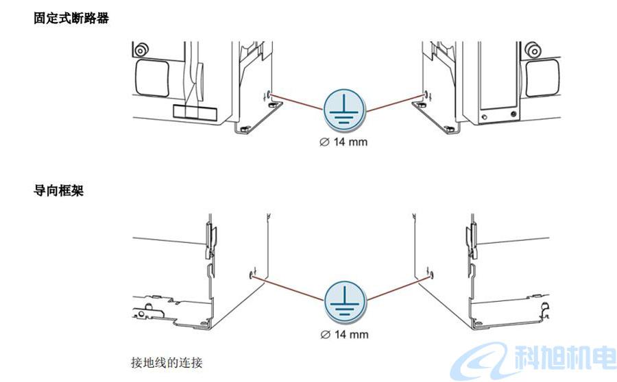 西门子断路器3WT接地线的连接