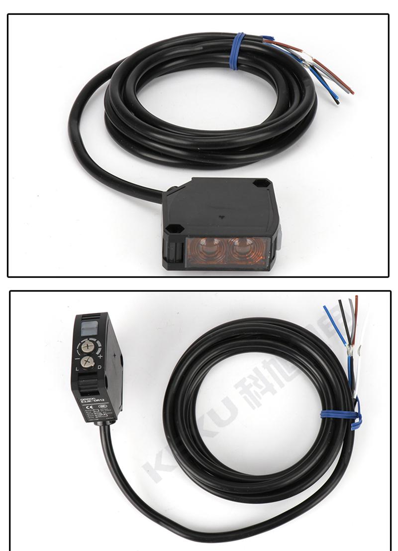 欧姆龙反射型光电开关E3JK-RN12-C光电传感器 红外线感应 原装正品 产品实拍1