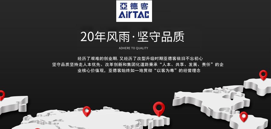亚德客三轴气缸TCM100X100S产品海报