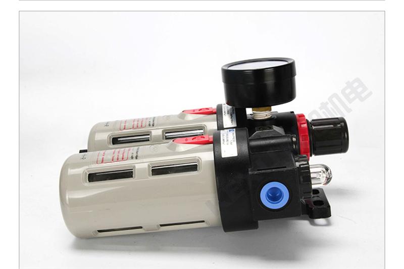 亚德客二联件过滤器BFC3000气源处理AFR3000+AL3000空气油水分离器 原装正品 产品实拍2